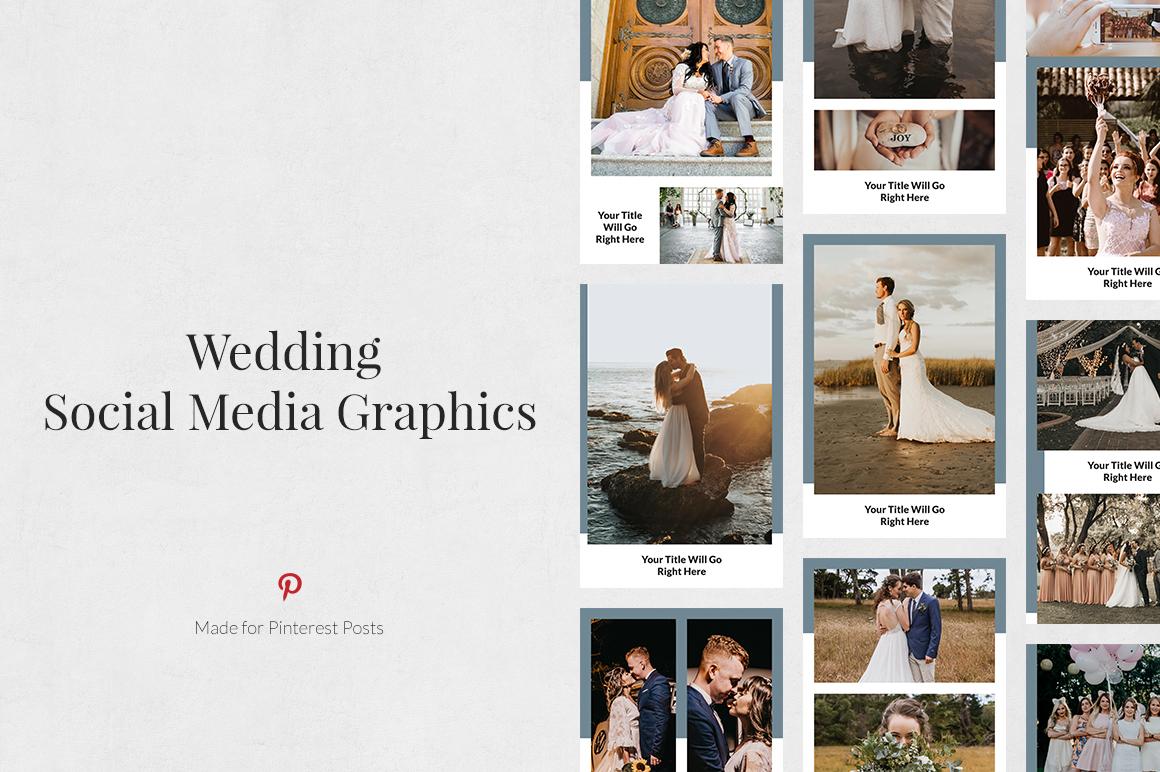 Wedding Pinterest Posts example image 1