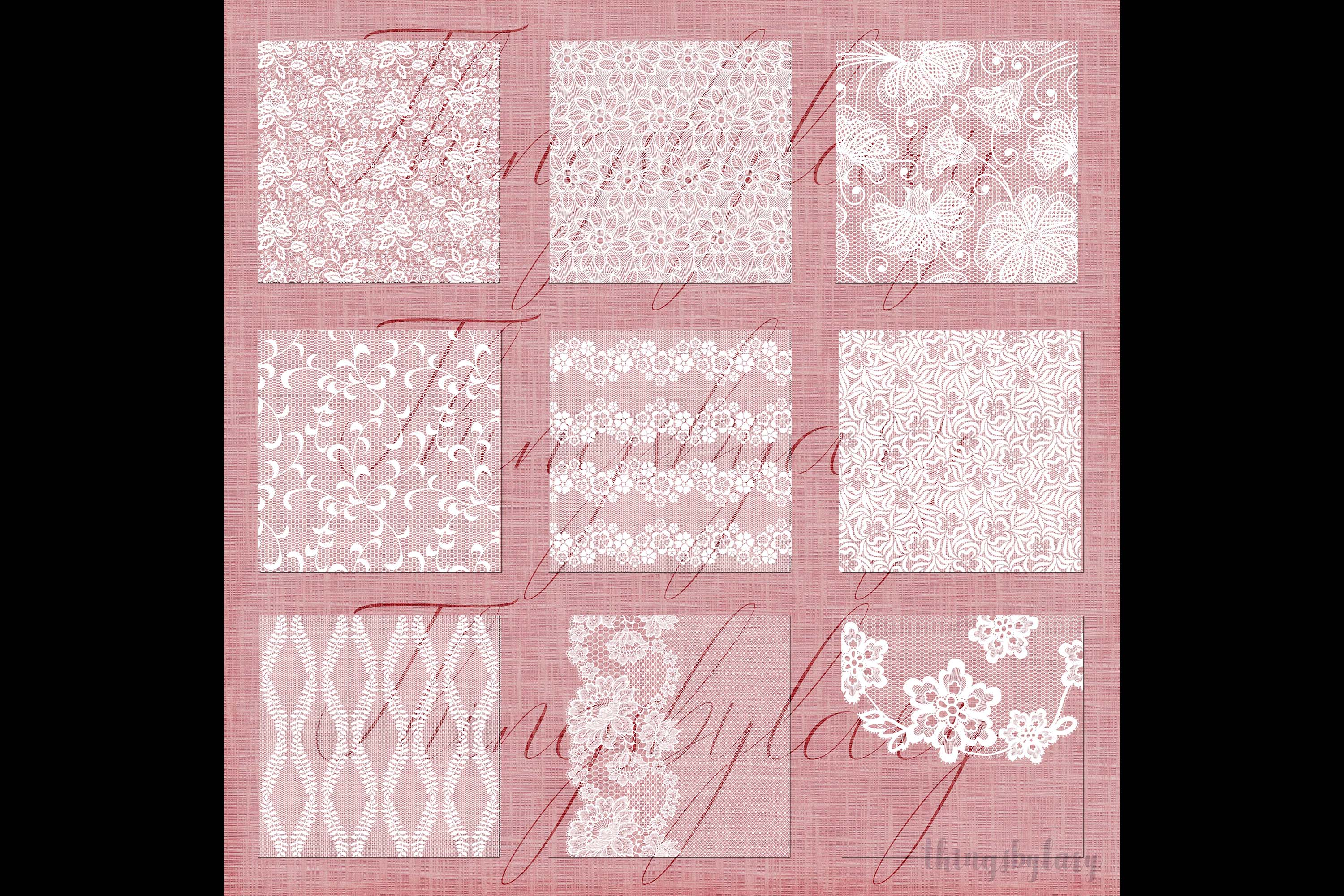 27 White Lace Border Frame Overlay Transparent Images PNG example image 9