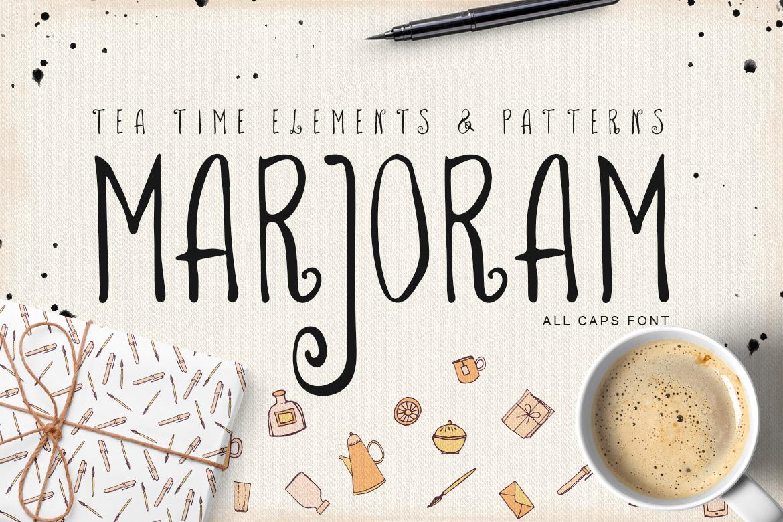 Marjoram Font example image 1