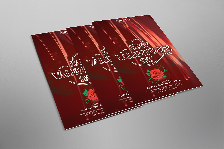 Valentine Flyer Psd example image 2