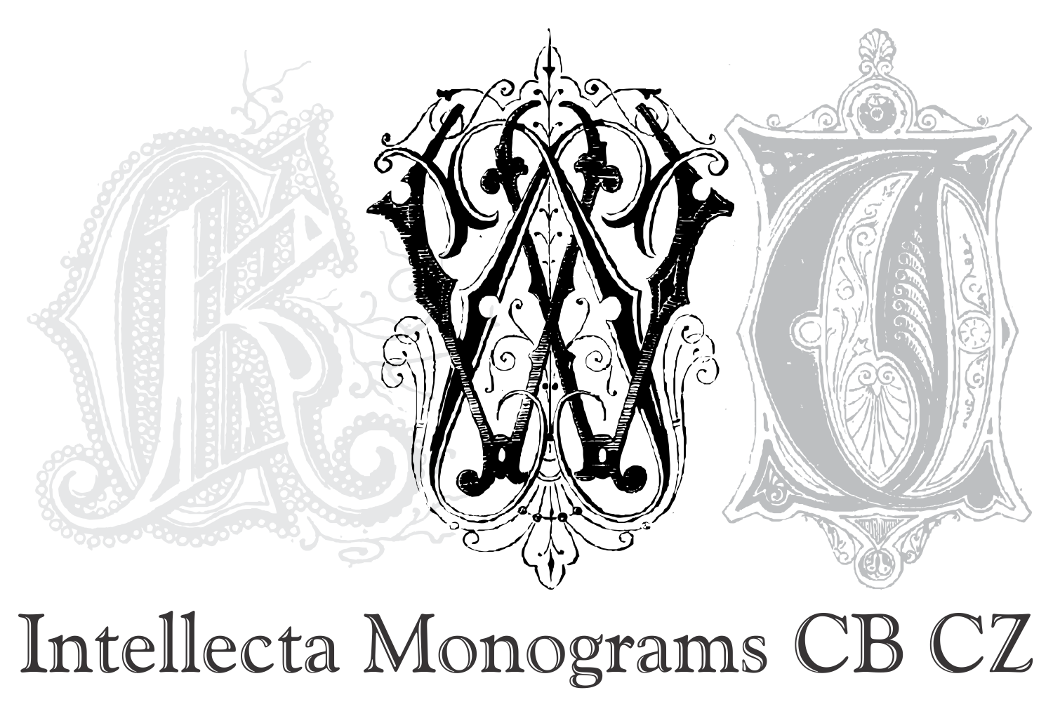 Intellecta Monograms CB CZ example image 4