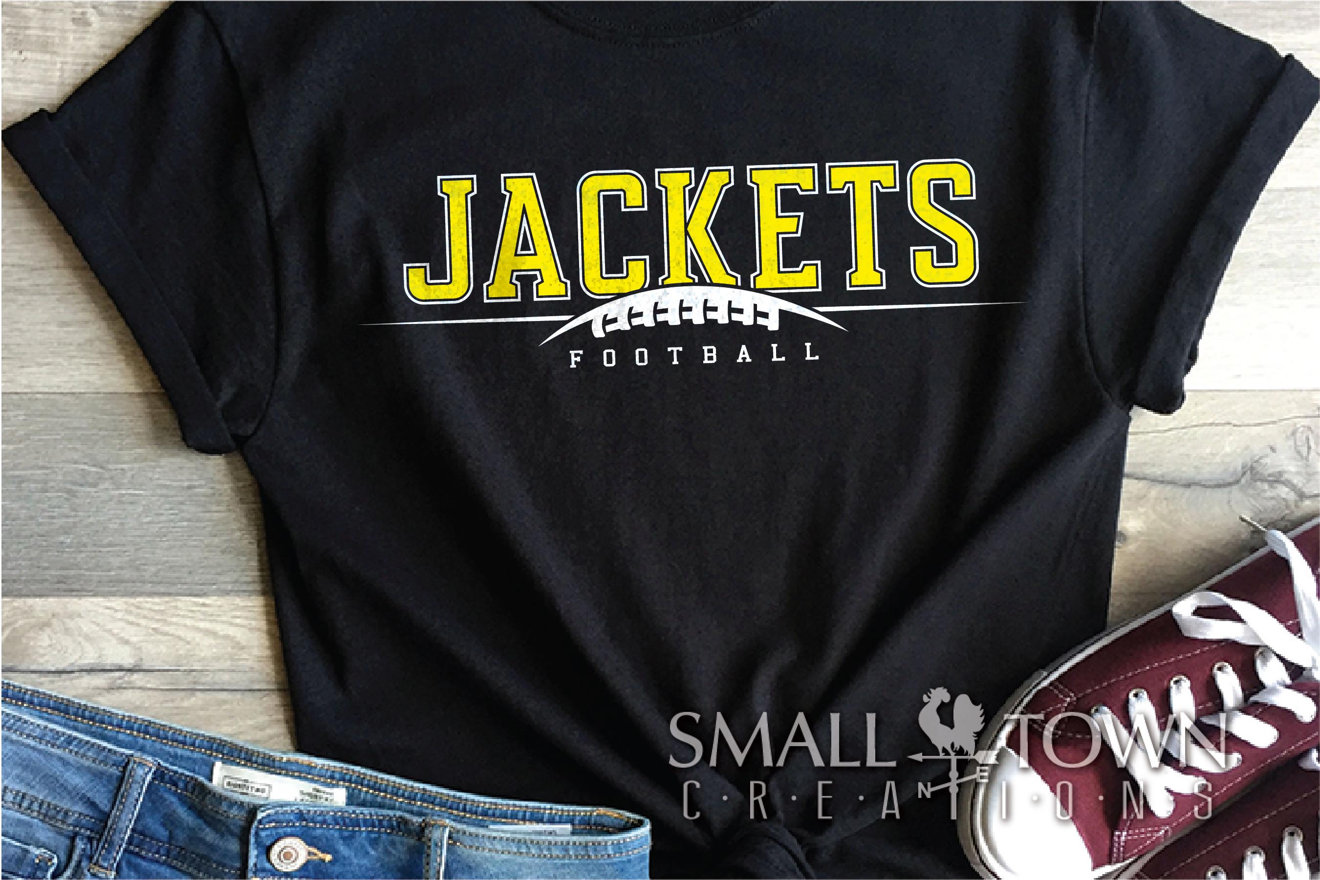 Jacket Football, Football Team, Sport, PRINT, CUT & DESIGN example image 1