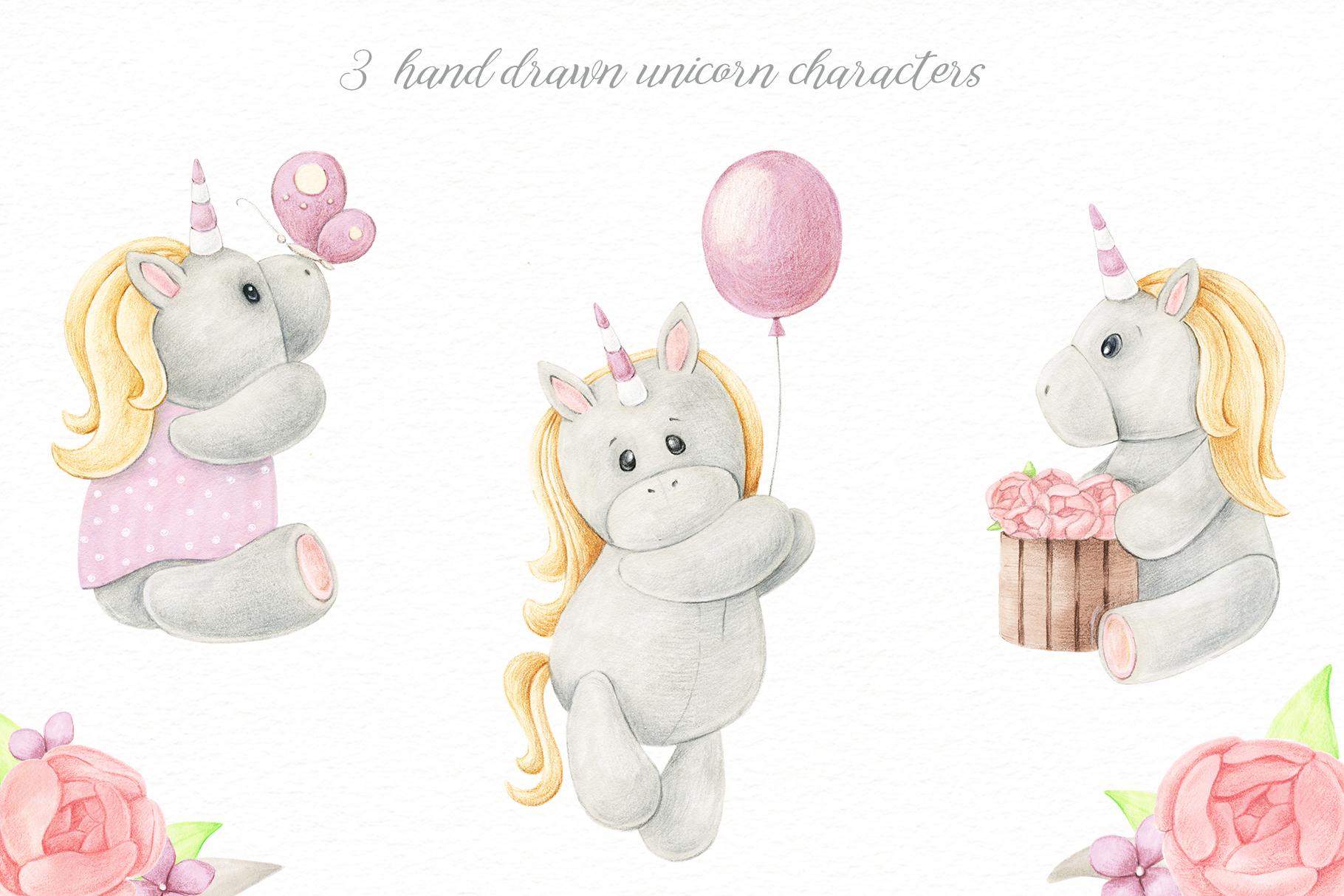 Tiny Unicorn Design Set example image 2