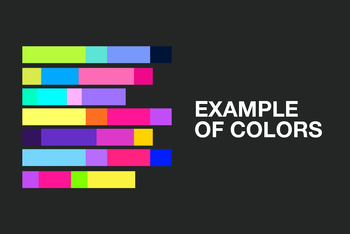 25 Neon Palettes 2019 Trends example image 2