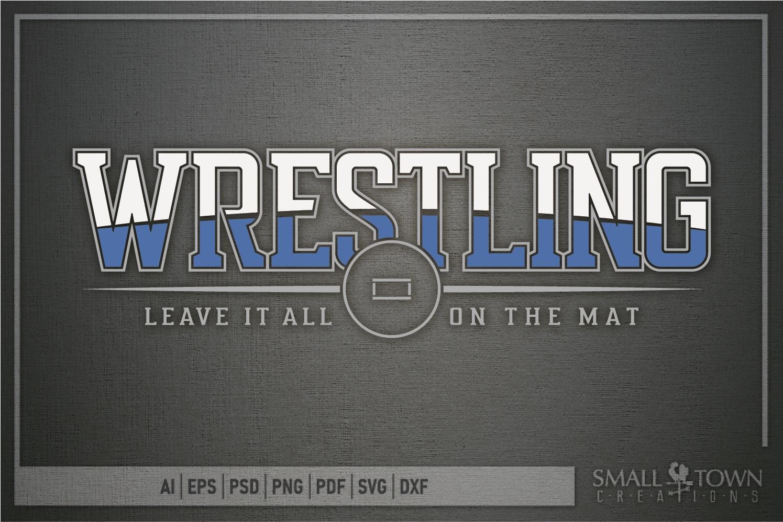 Wrestling, Headgear, Team, Sports, Logo, PRINT, CUT & DESIGN example image 5