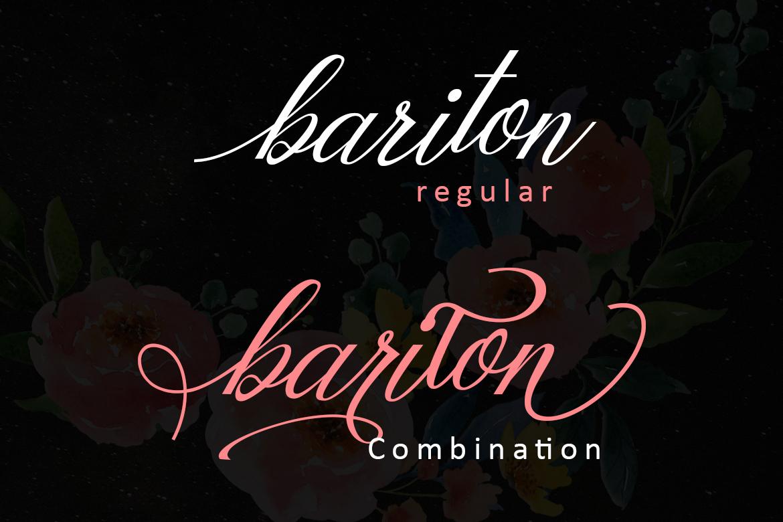 Mottingham Elegant Calligraphy Typeface example image 4