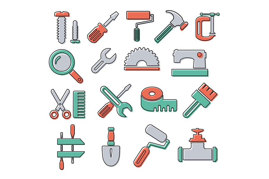 Monogram tools icon example image 1