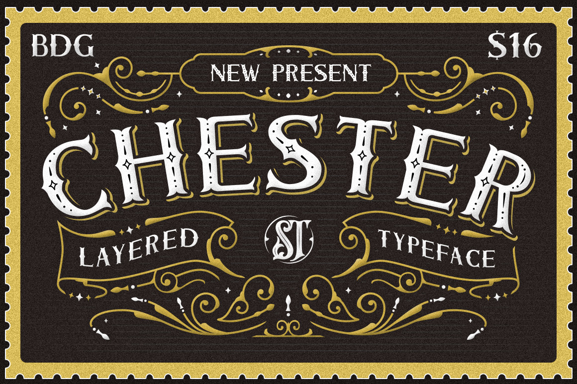 Chester Typeface example image 1