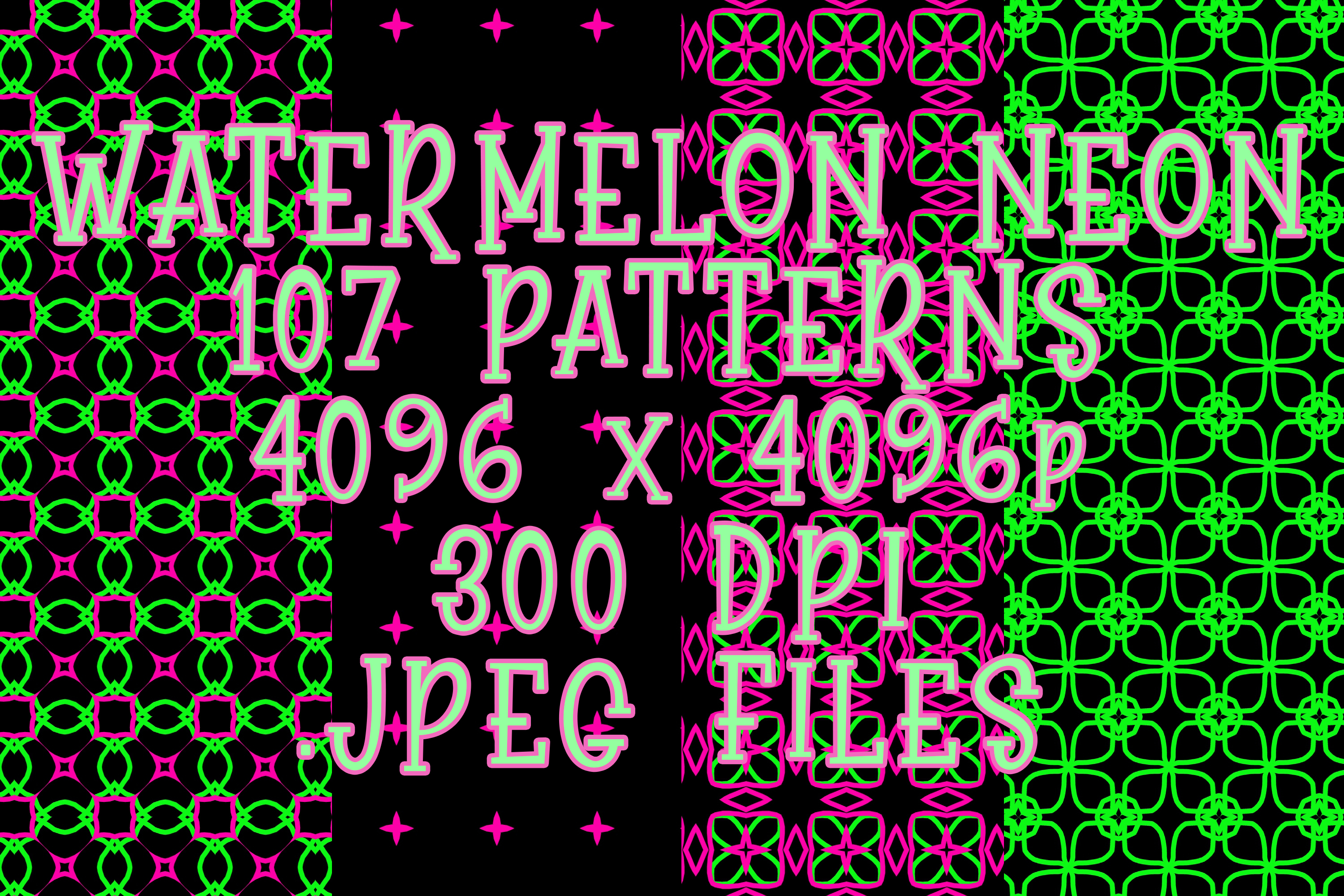 Watermelon Neon example image 2
