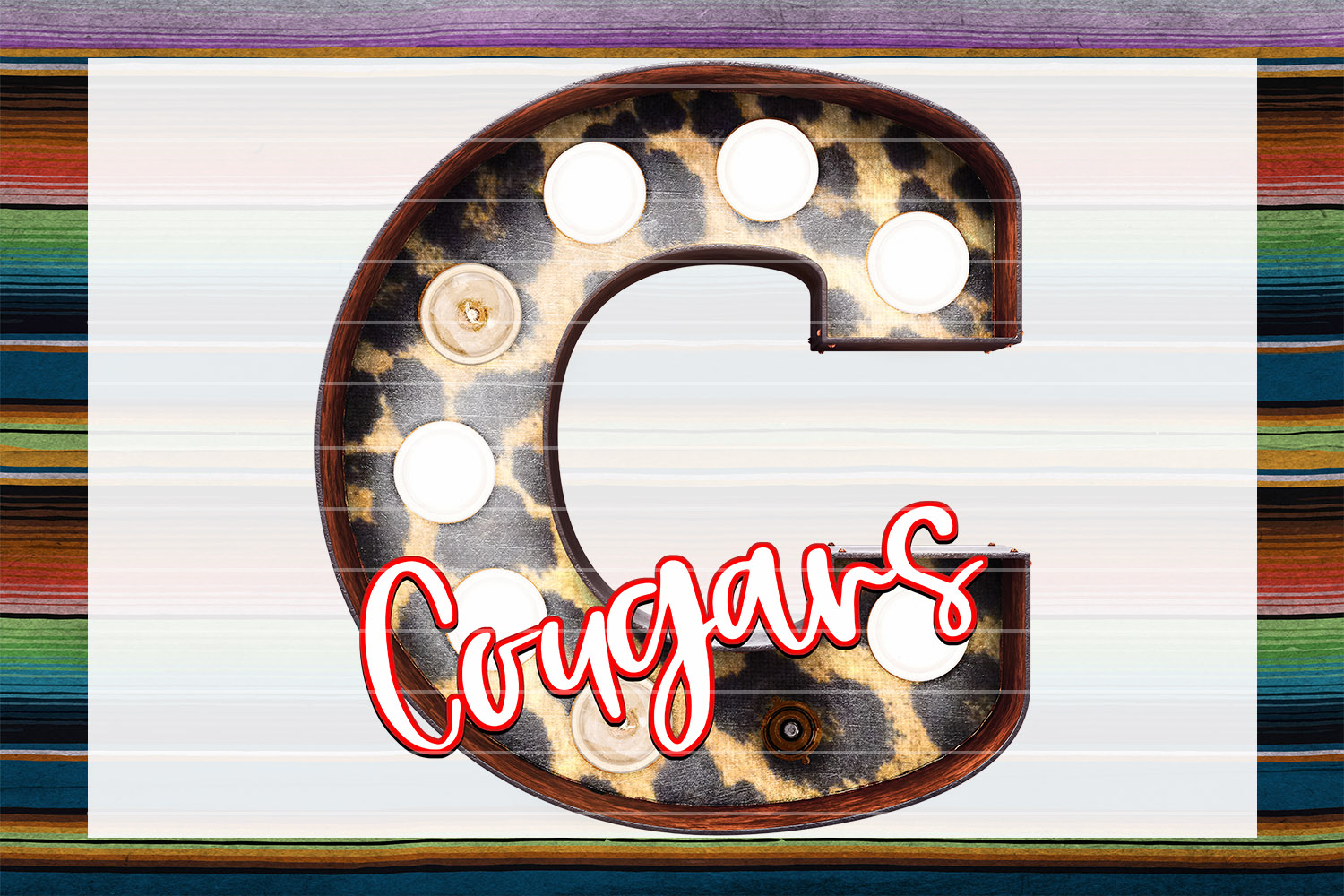 Cougars Marquee Bundle example image 4