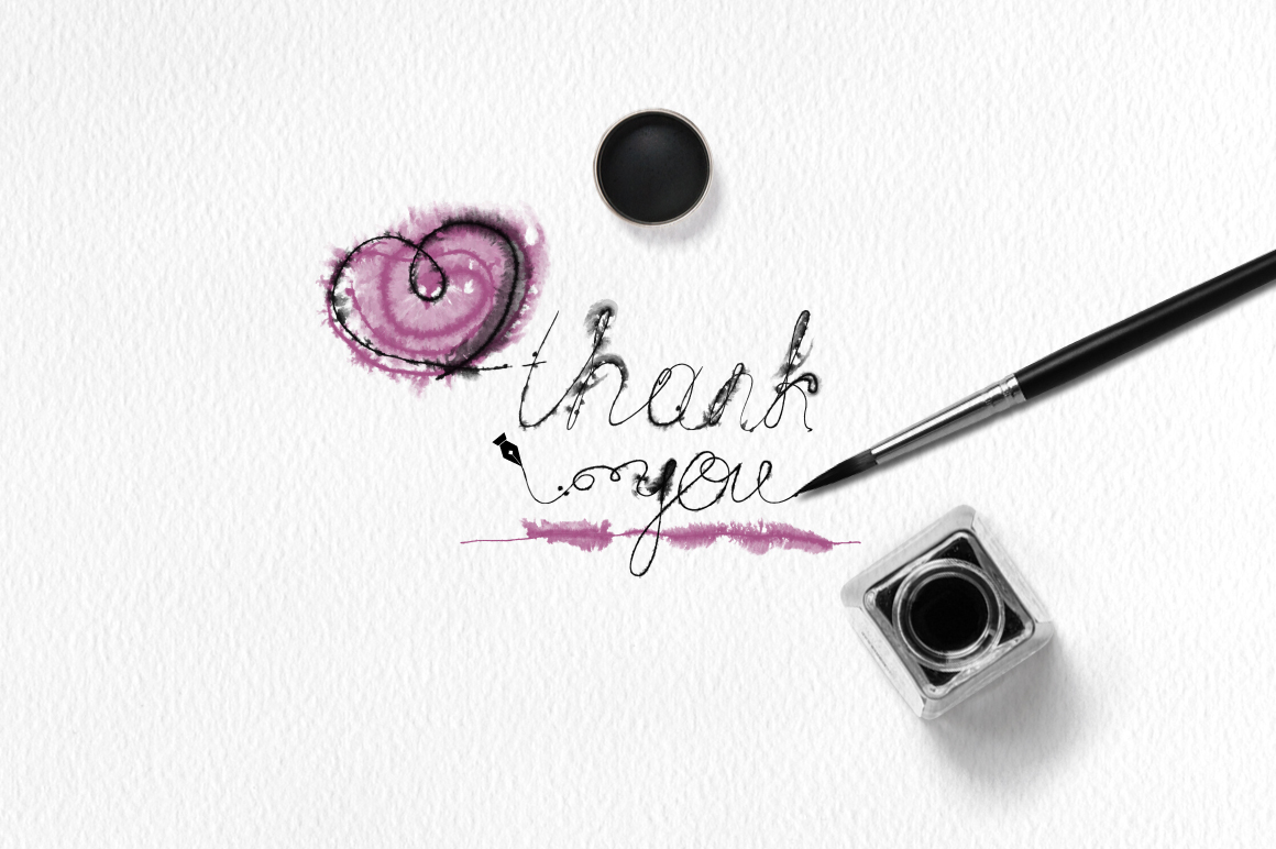 Runny Ink Brushes for Illustrator example image 7