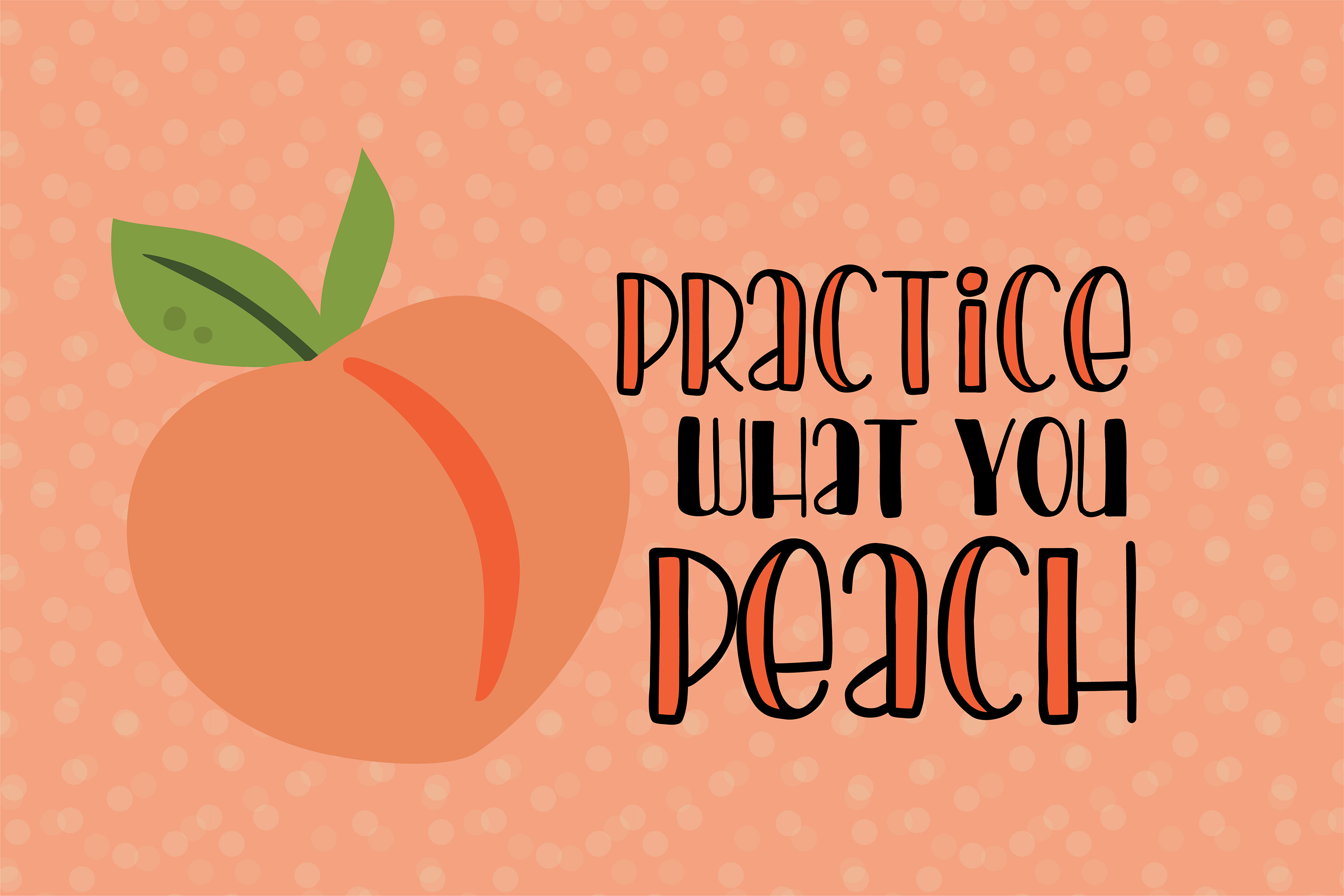 PN Peach Preserves Font Duo example image 6