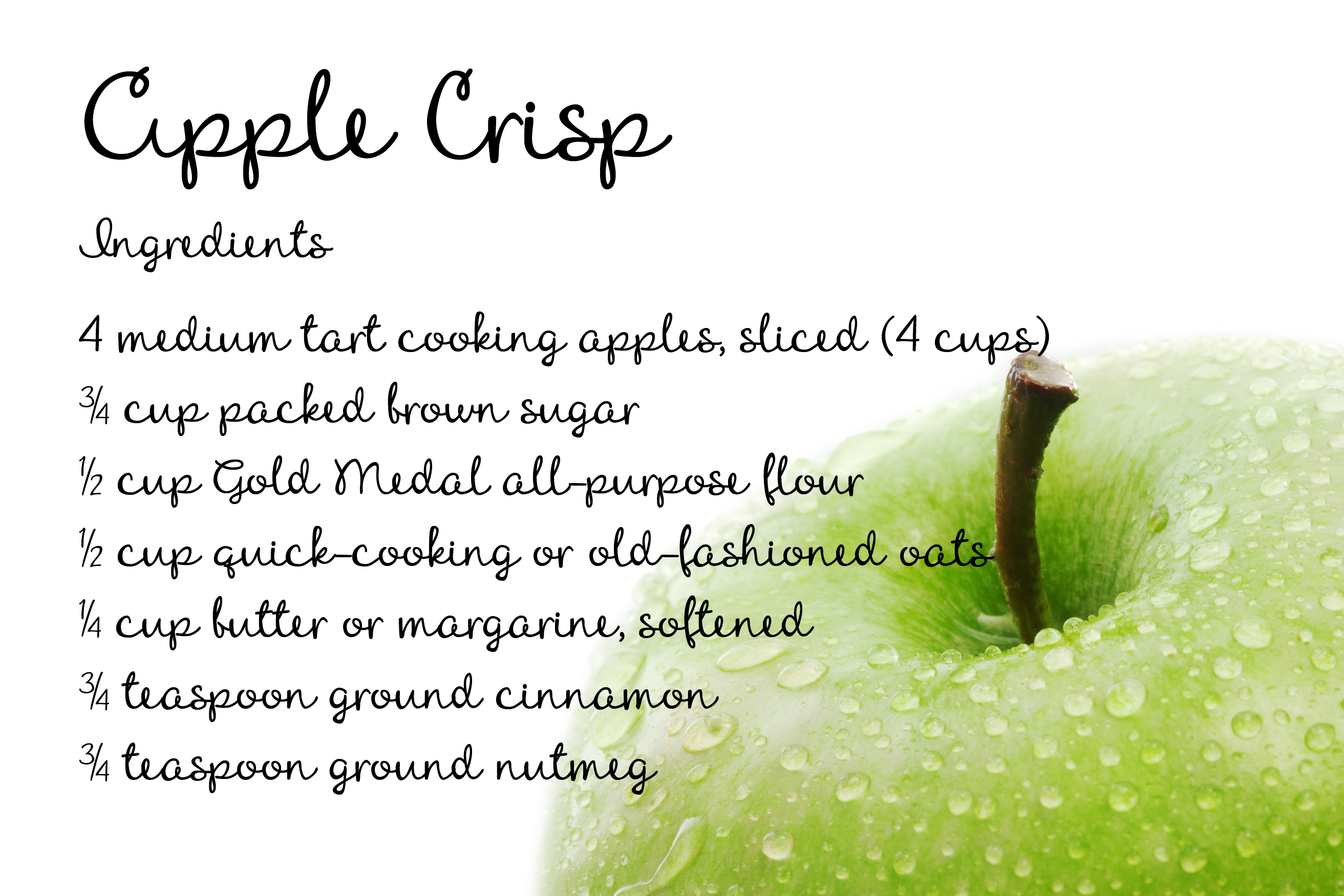ZP Apple Crisp example image 5