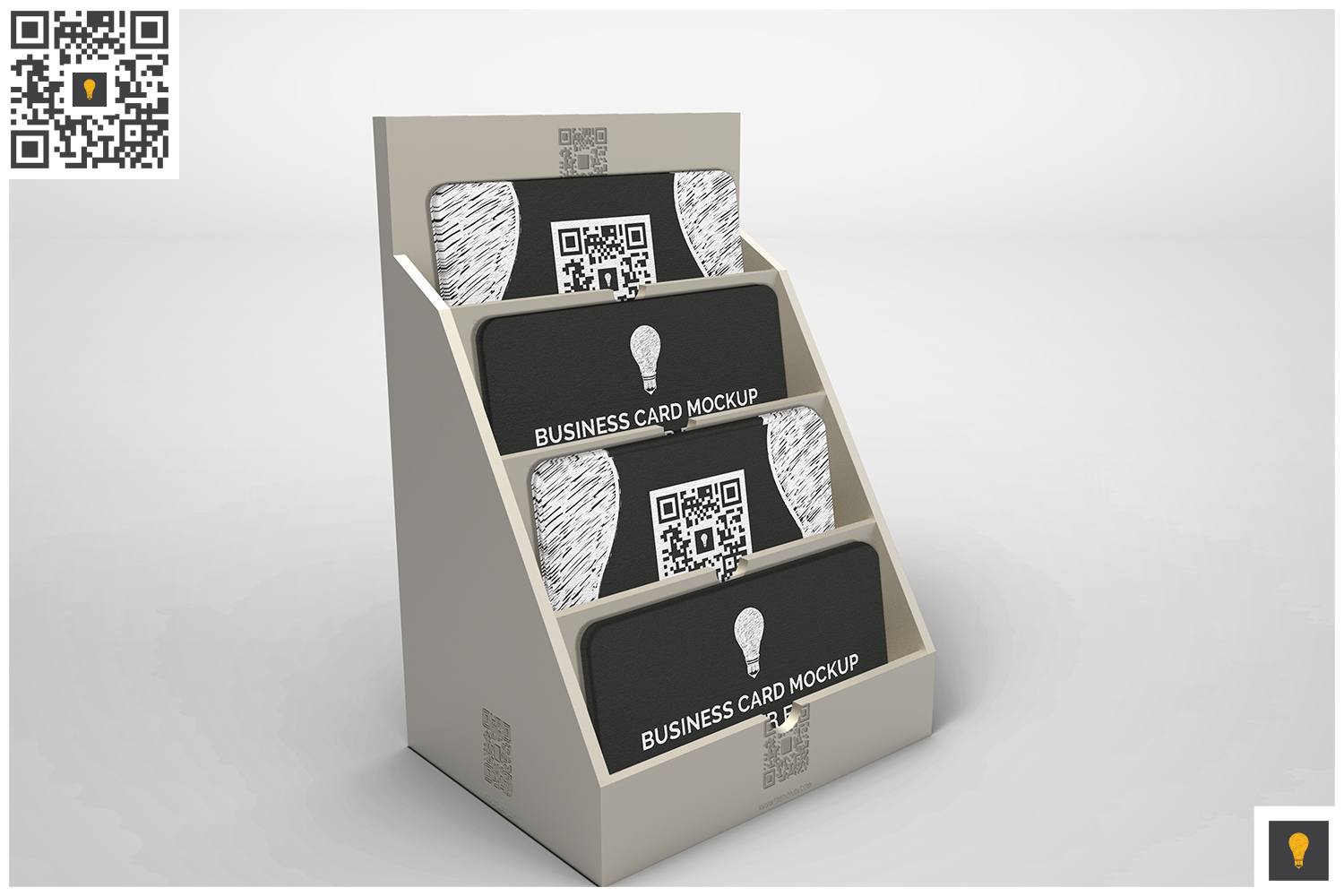 Business Card Holder Mockup example image 3