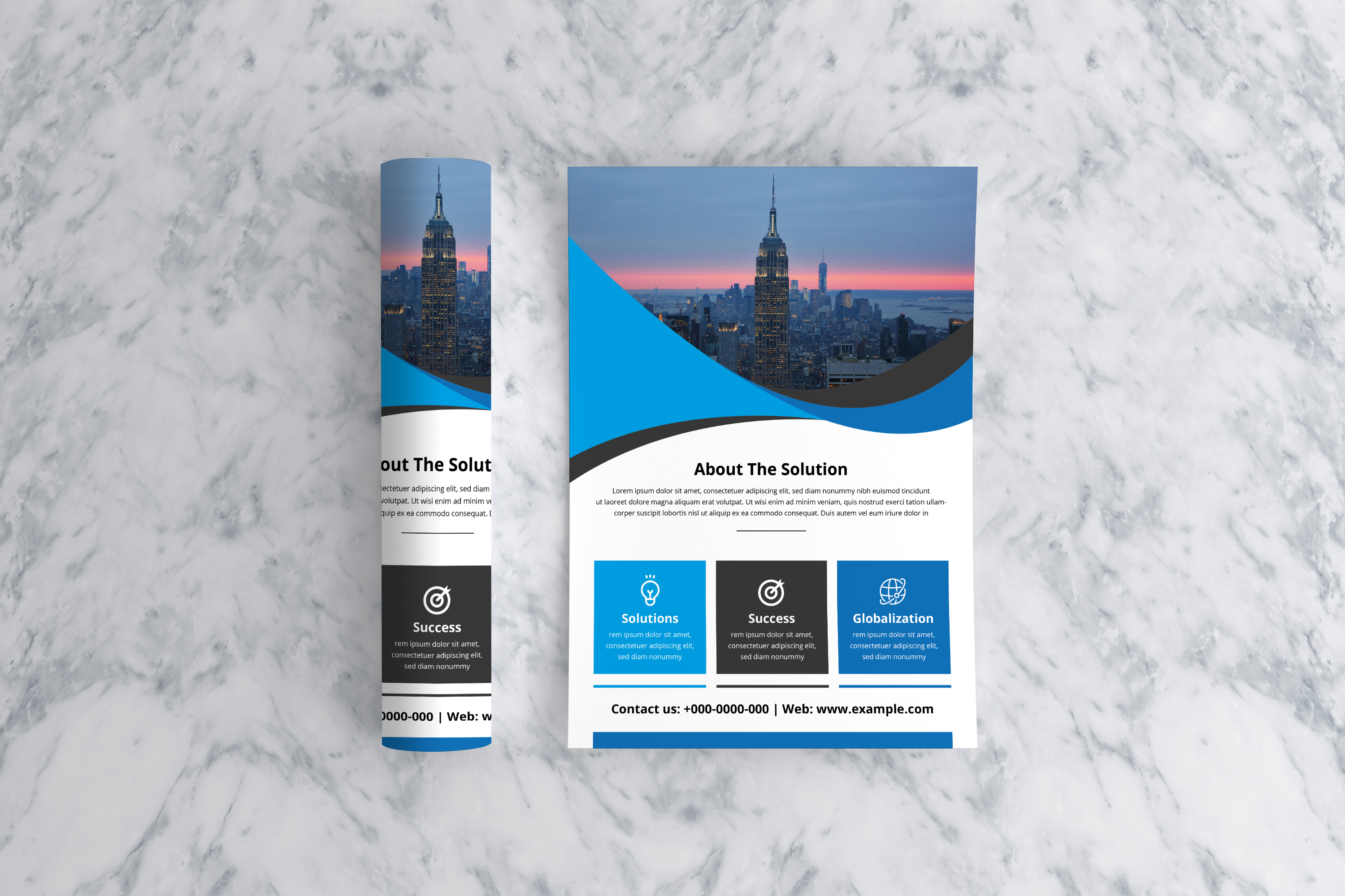 Corporate Flyer Template example image 3