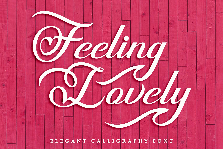 Feeling lovely example image 1