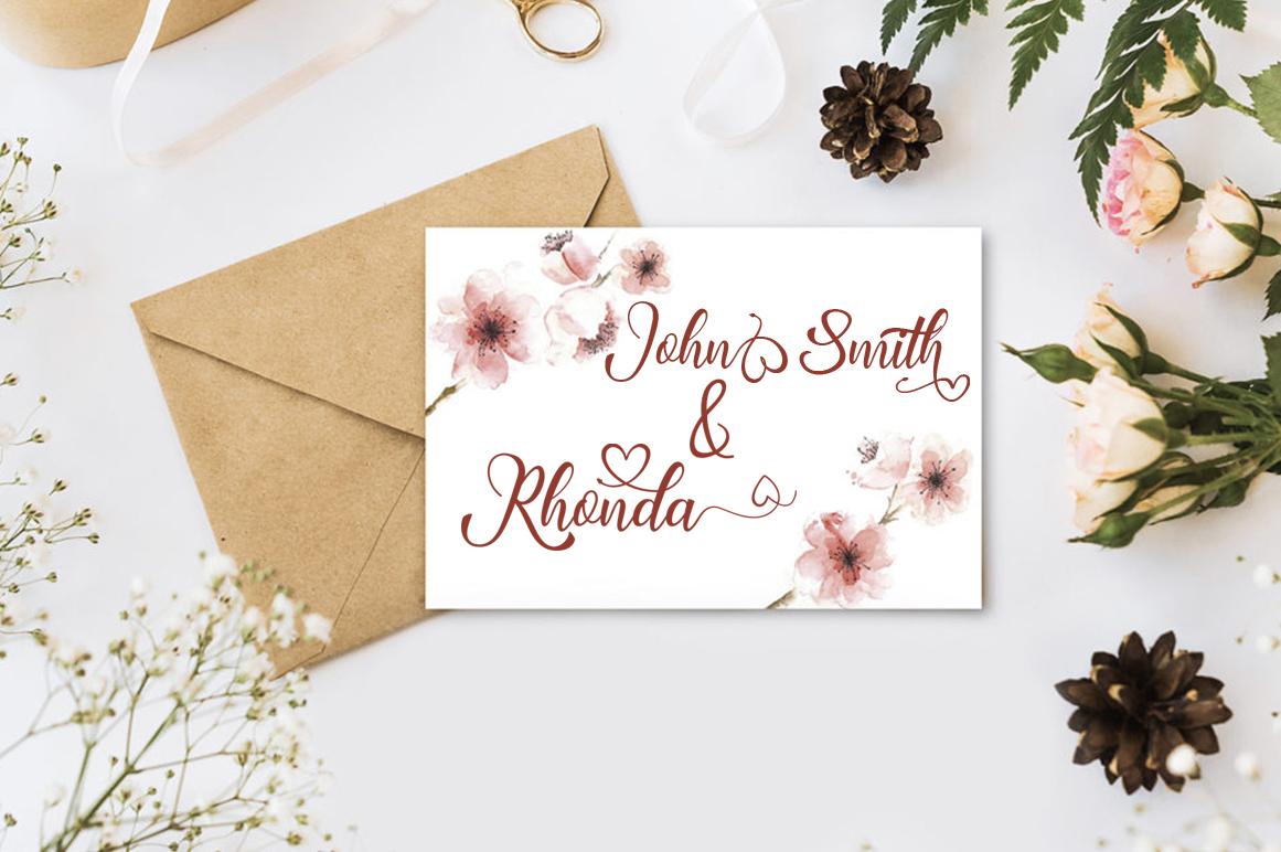 Rhonda Script example image 2