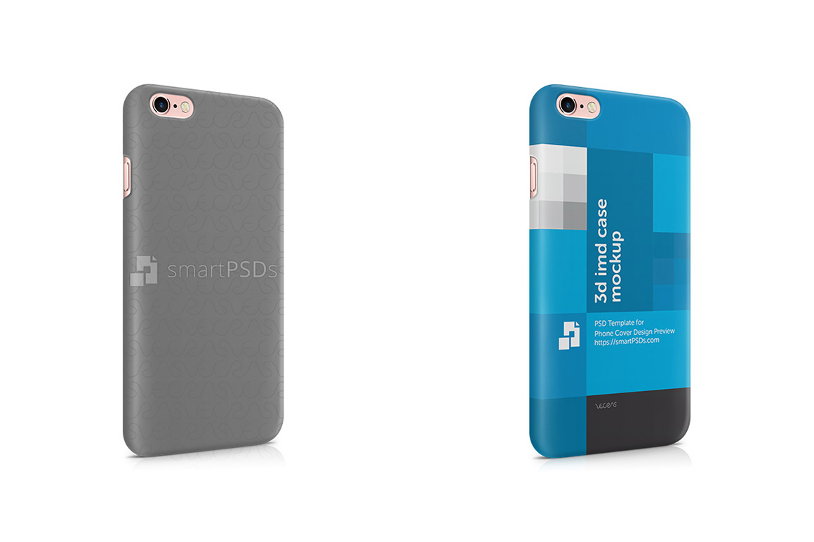 Apple iPhone 6S Plus 3d IMD Mobile Case Design Mockup 2015 example image 1