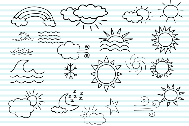 Weather Doodles example image 2