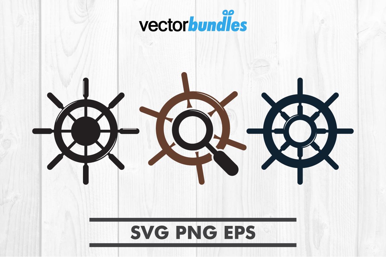Navy wheel clip art svg example image 1