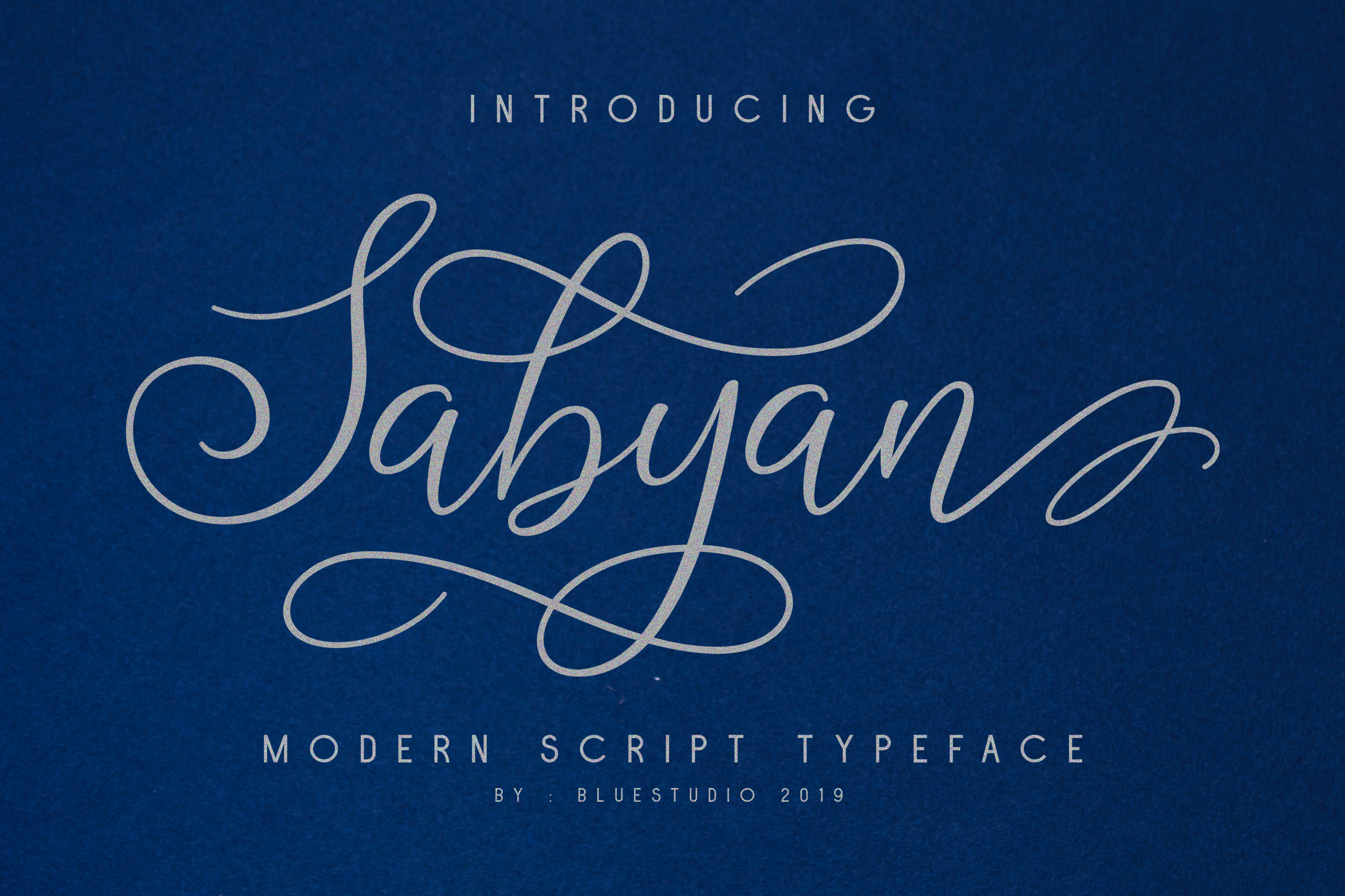 Sabyan // Modern Script Typeface example image 9