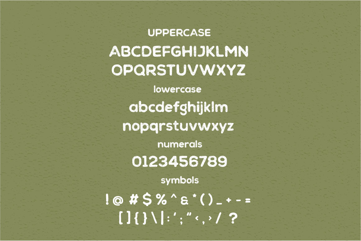 Chalif Typeface example image 4