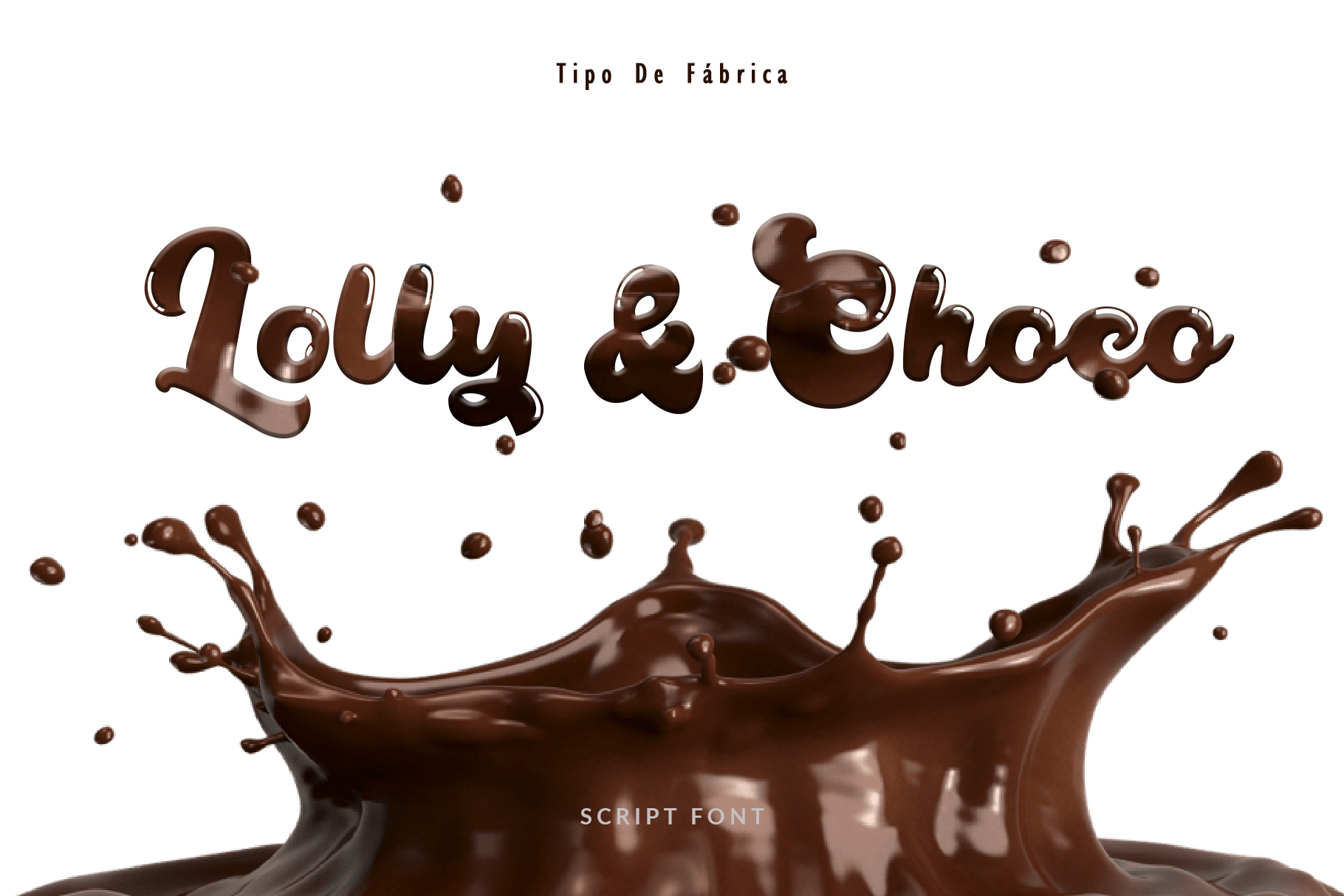 Lolly and Choco || Script Font example image 1