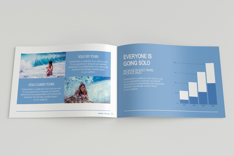 Travel Agency Printable Catalogue - A5-26 PSD Templates example image 9