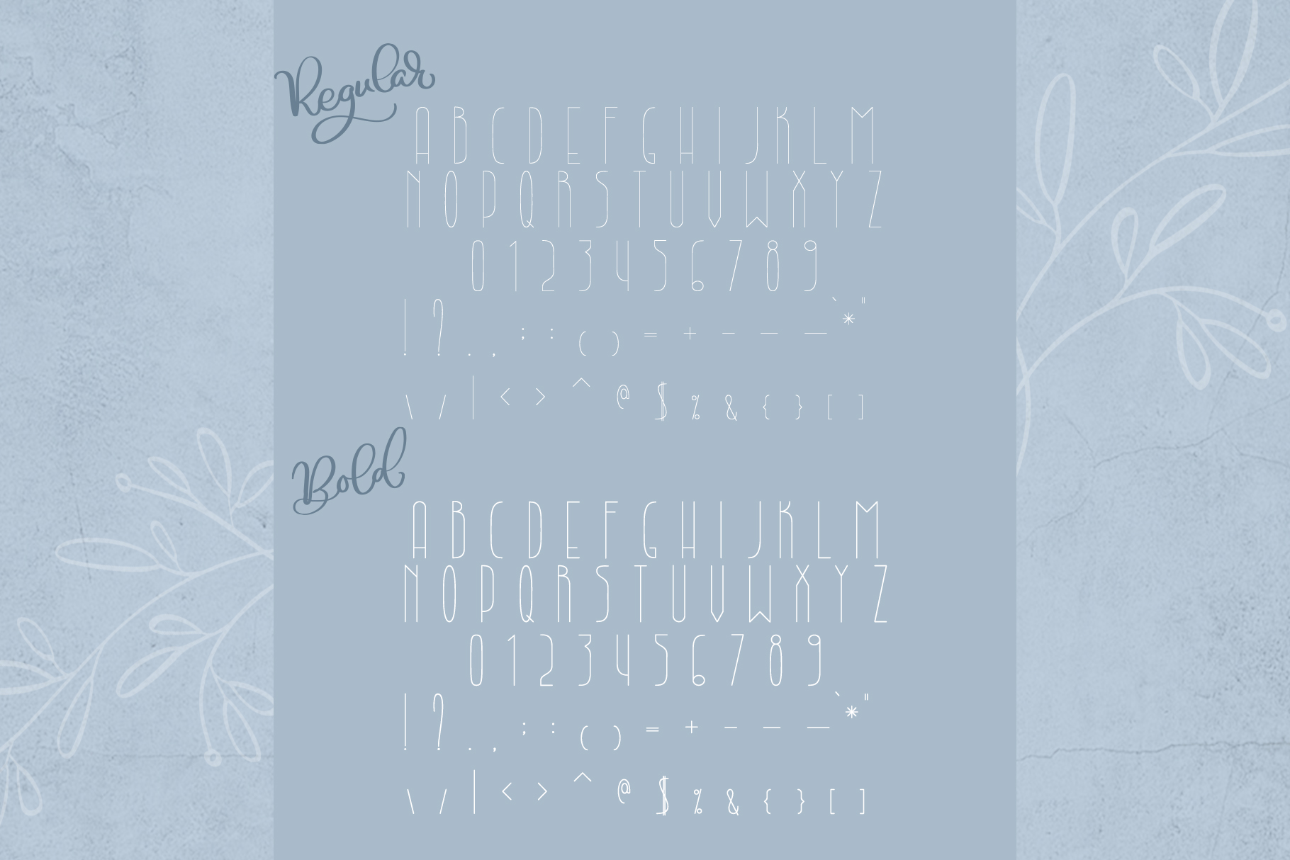 Lightbon Modern Font example image 6