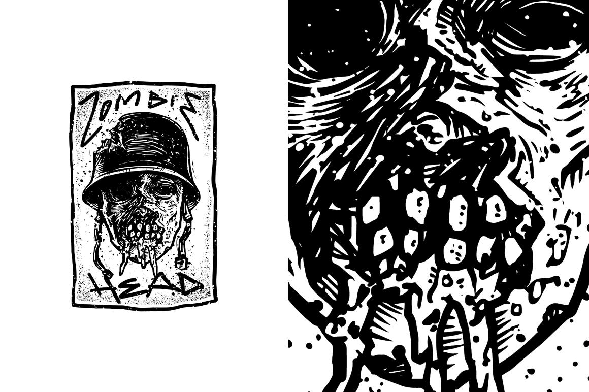 20 VECTOR skull illustration example image 21