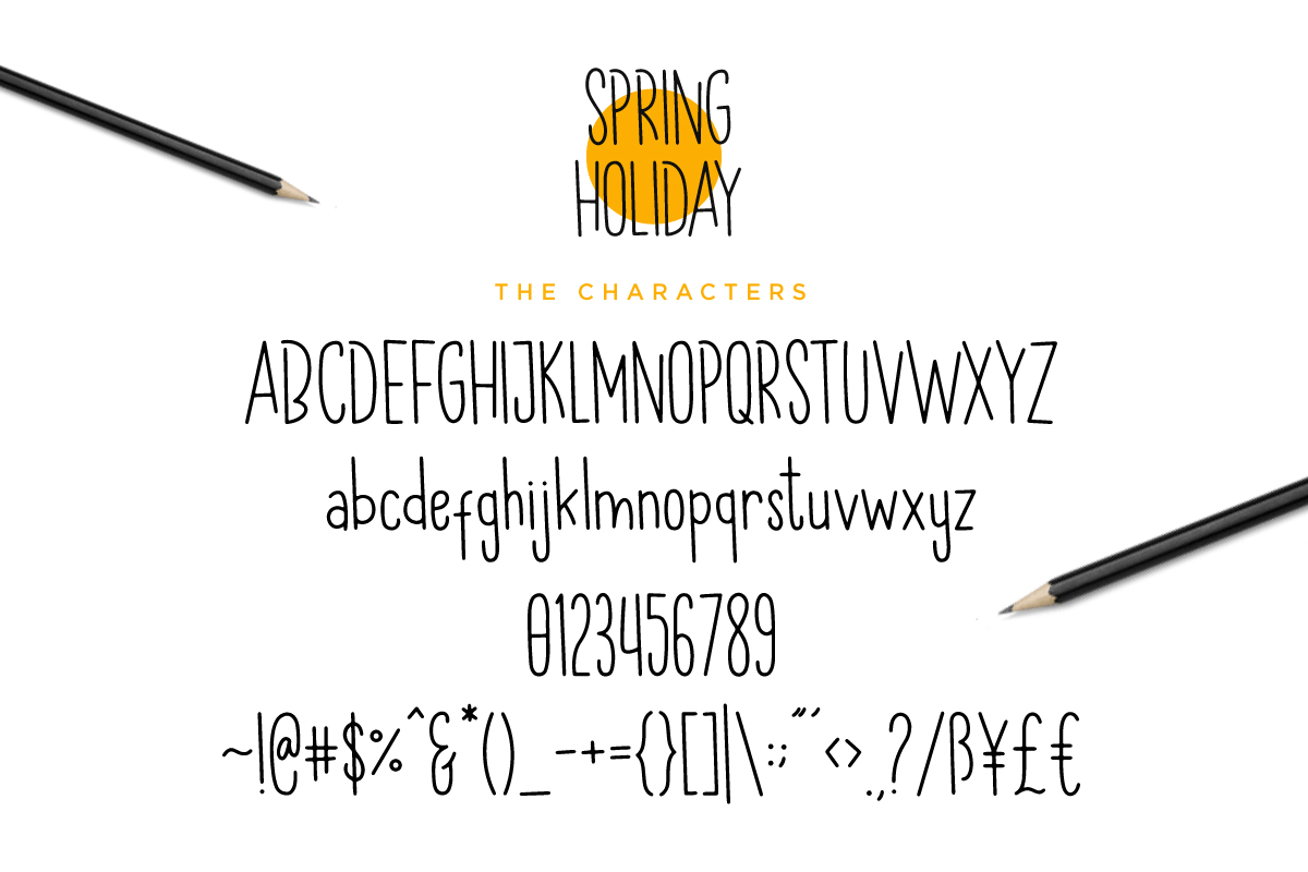 Spring Holiday | 3 Handwritten Font example image 5