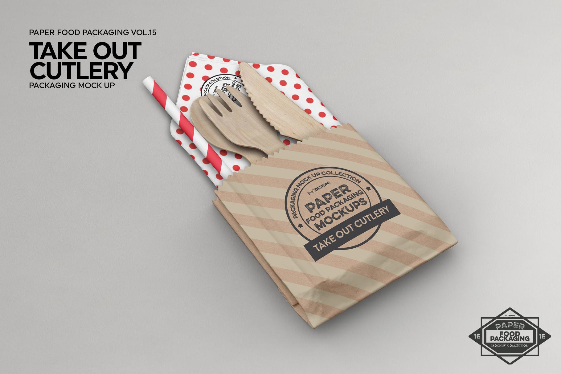 VOL.15 Food Box Packaging MockUps example image 2