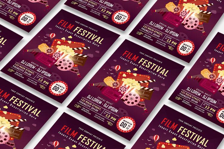 FILM FESTIVAL FLYER example image 6
