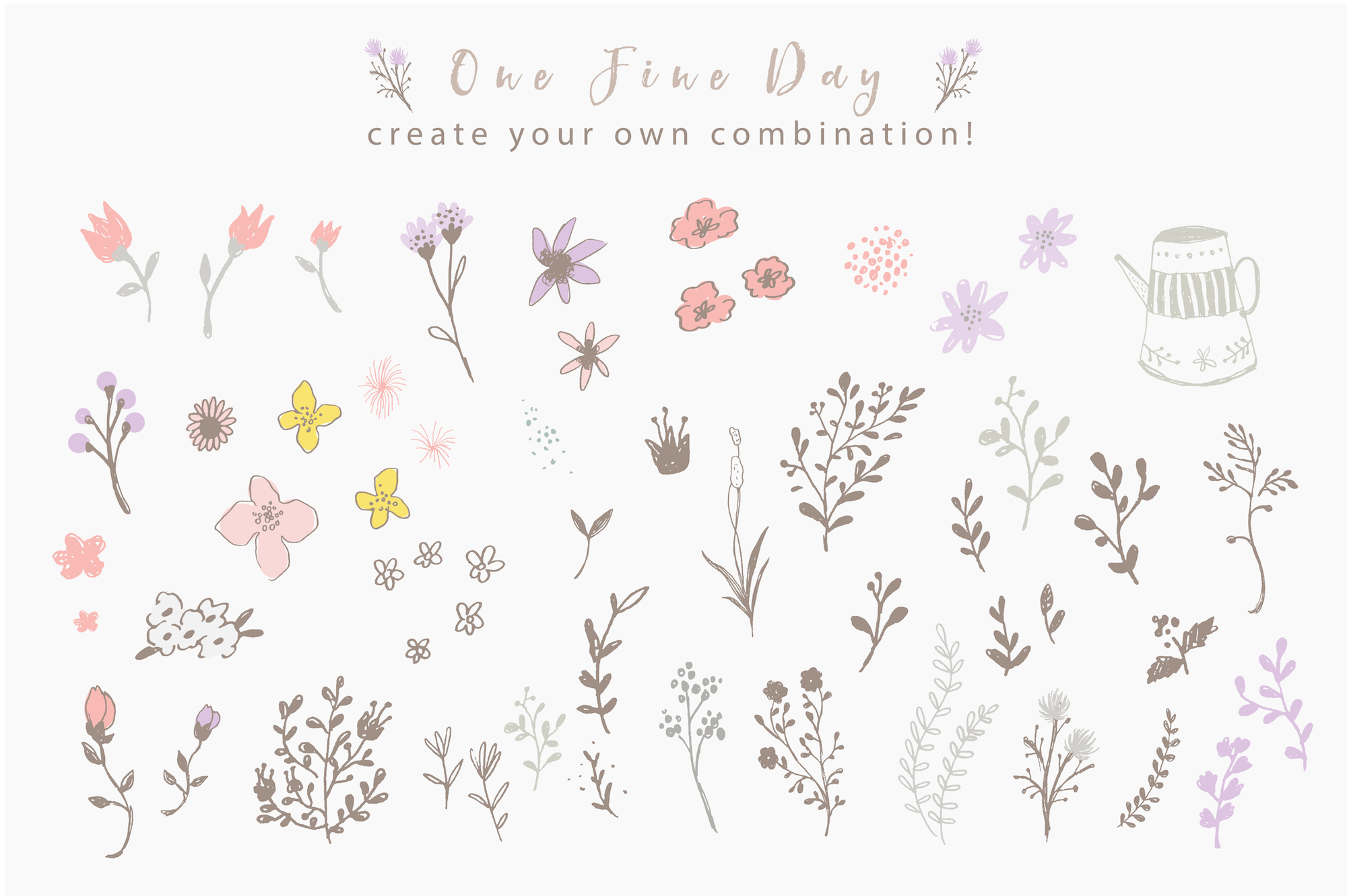 One Fine Day - Rustic Floral Design example image 1