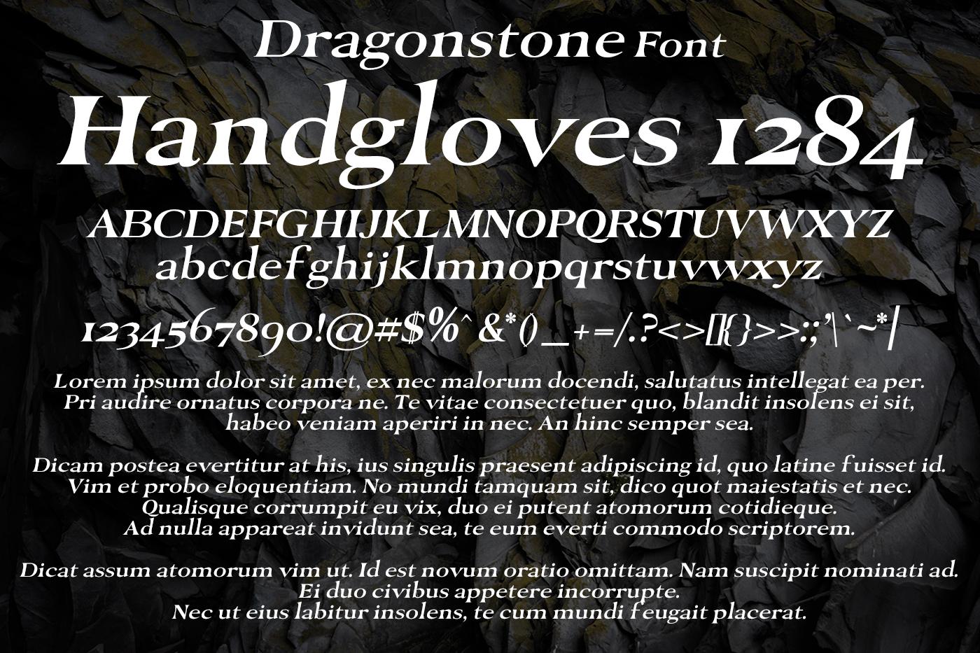 Dragonstone Font example image 2