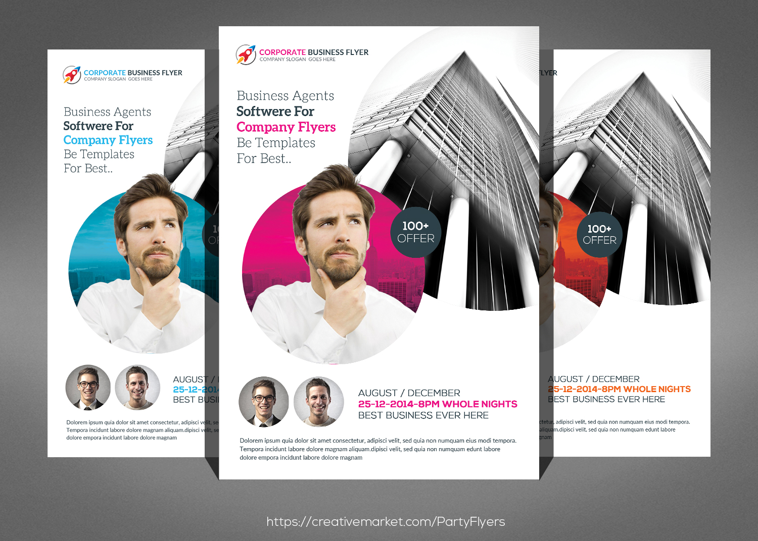 5 Business Flyer Bundle example image 3