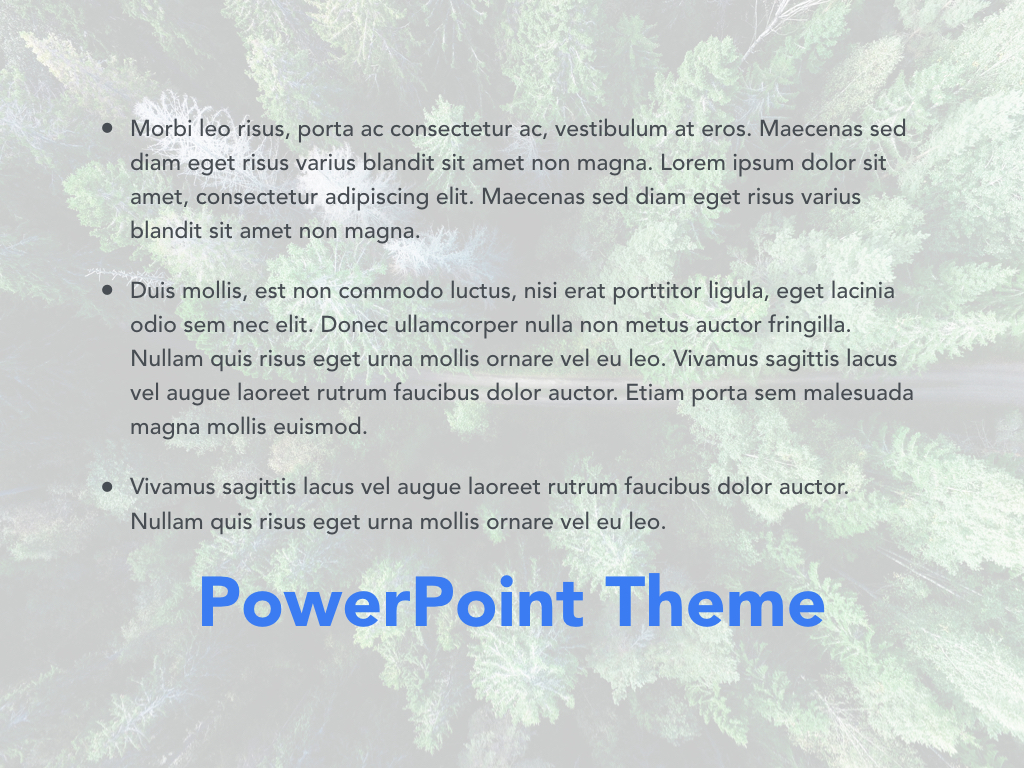 Avid Traveler PowerPoint Template example image 11