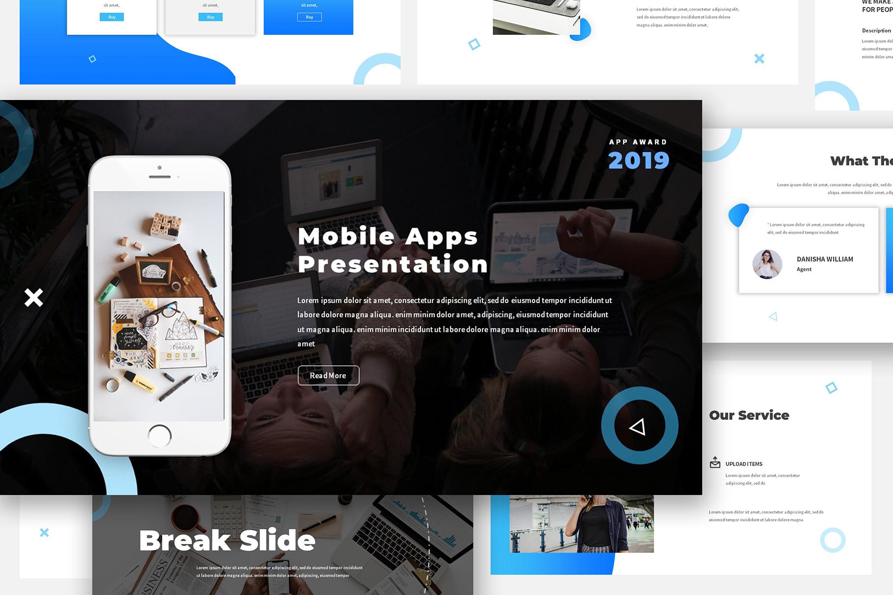 Mobile App Keynote Proposal example image 4