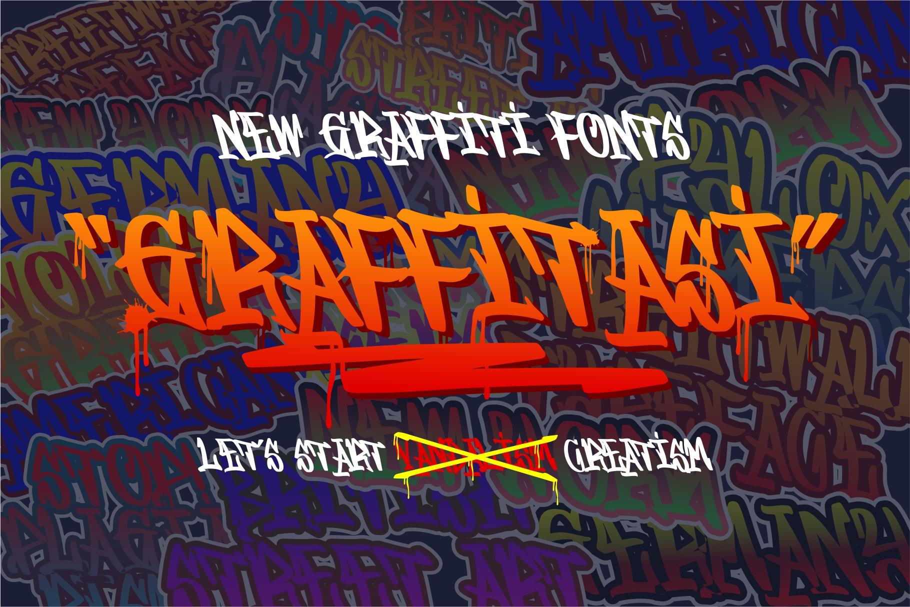 GRAFFITASI - Street Fonts example image 1