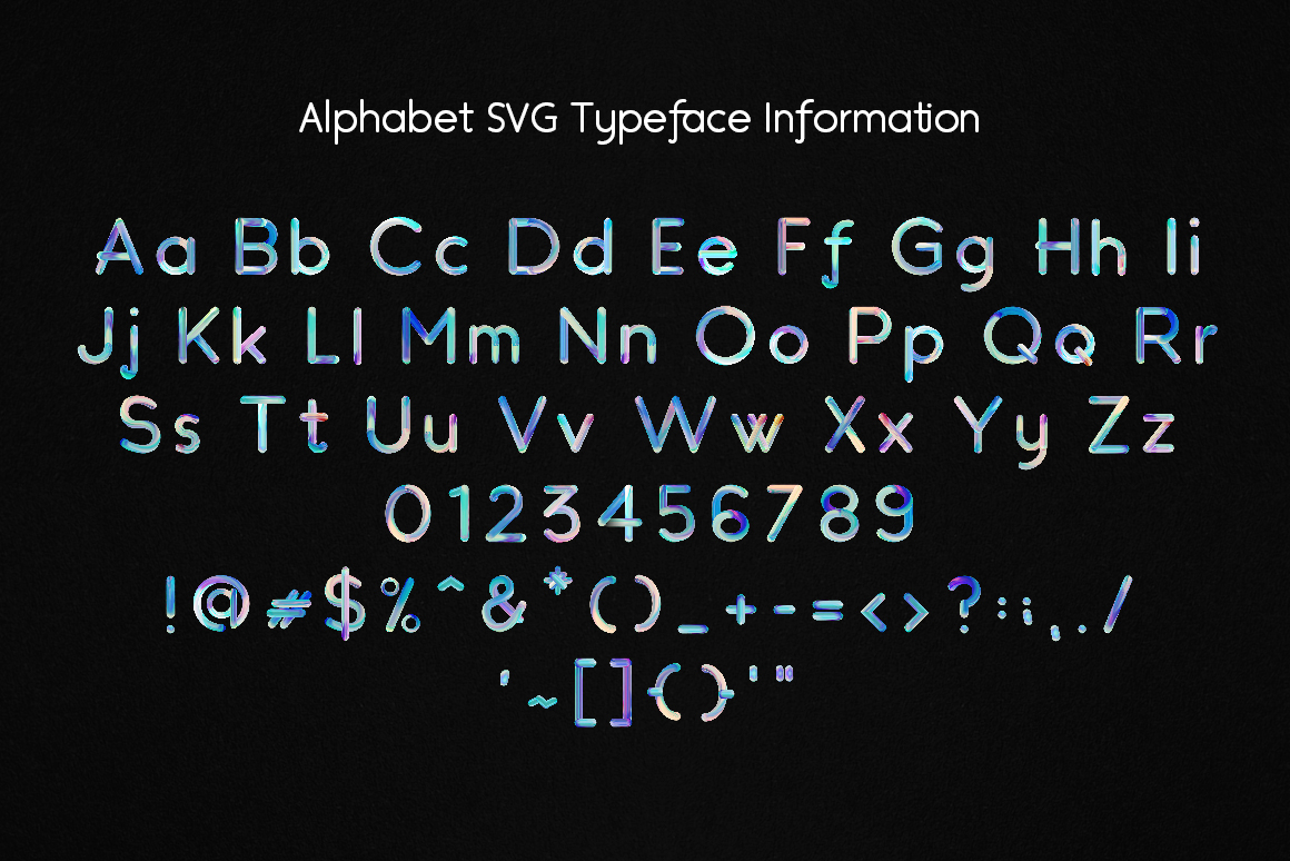 Velocity SVG Font example image 4