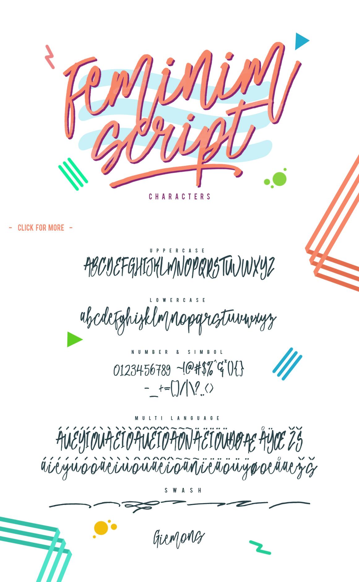 Feminim Script + Bonus example image 7