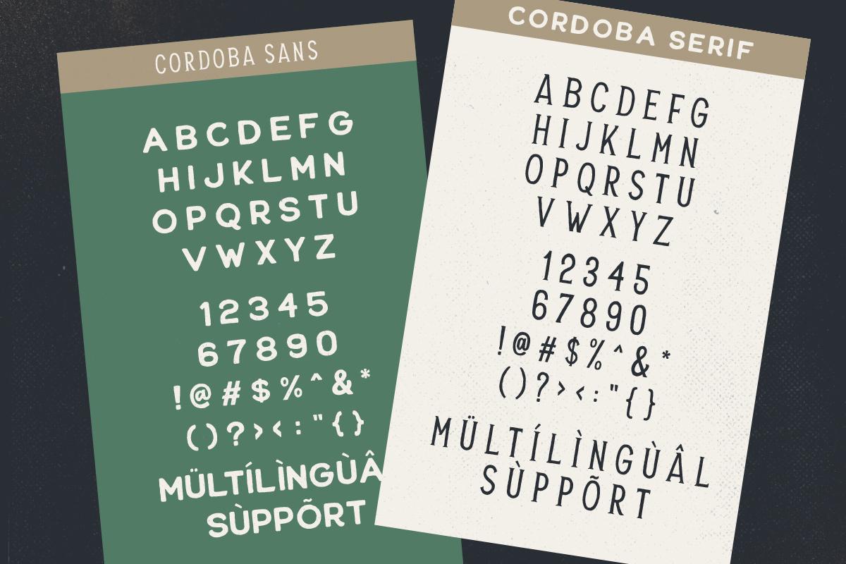 Cordoba - Font Duo EXTRA example image 9