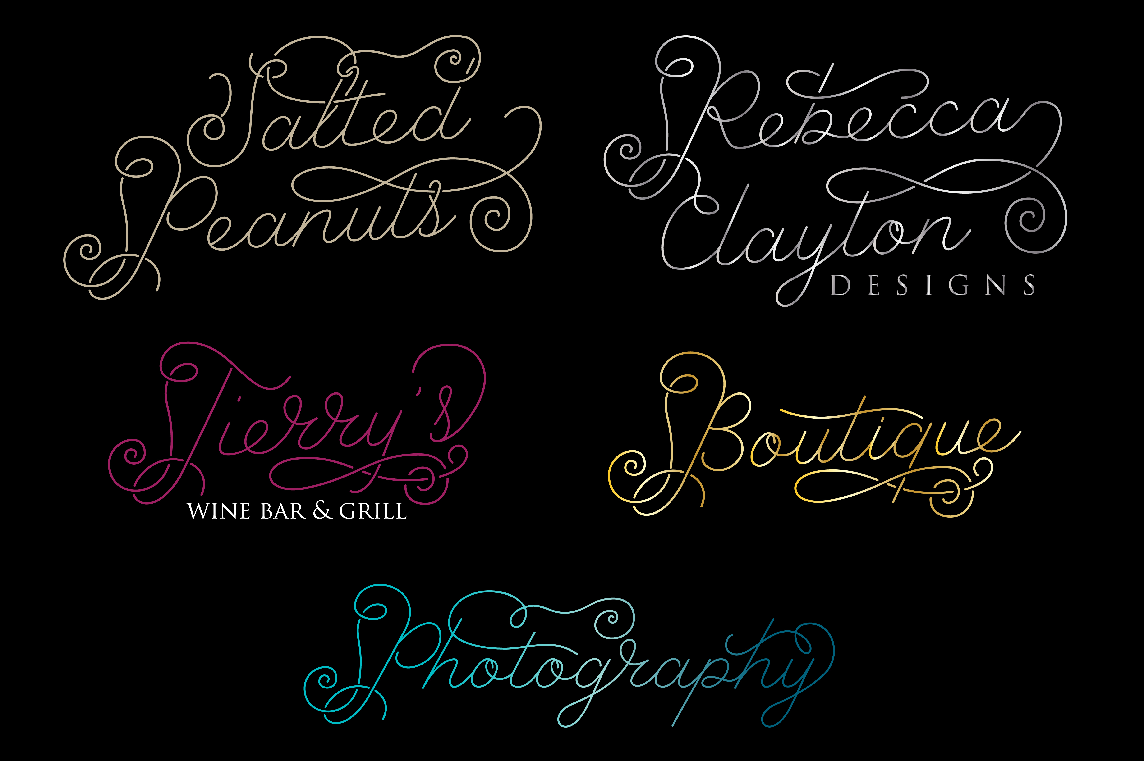 Font Bundle - Instant Hand Lettering example image 10