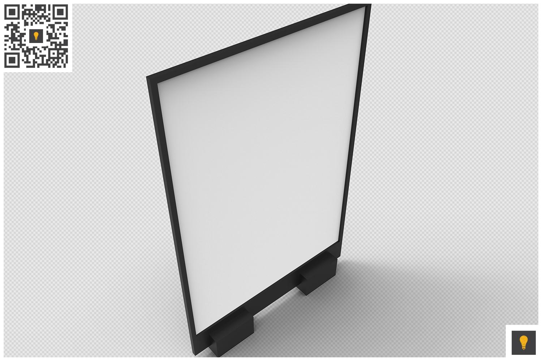 Flyer Display 3D Render example image 2