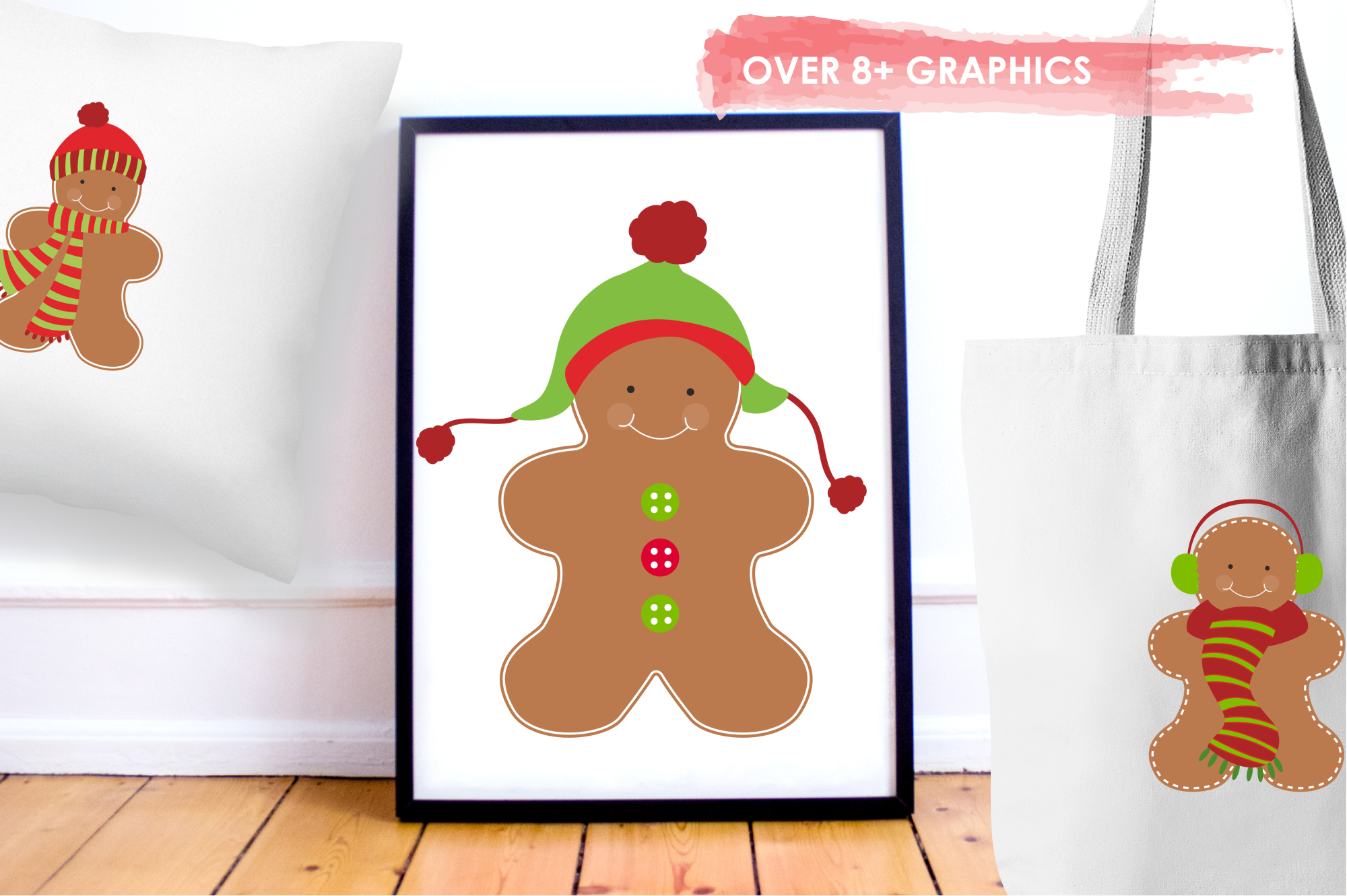Gingerbread Classic graphics and illustrations example image 5