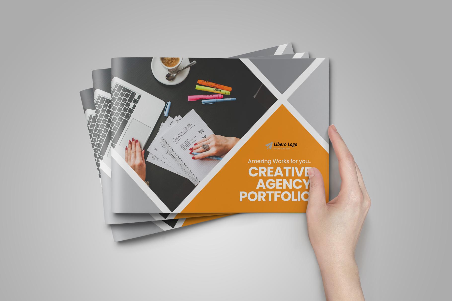 Digital Agency Portfolio Brochure v2 example image 2