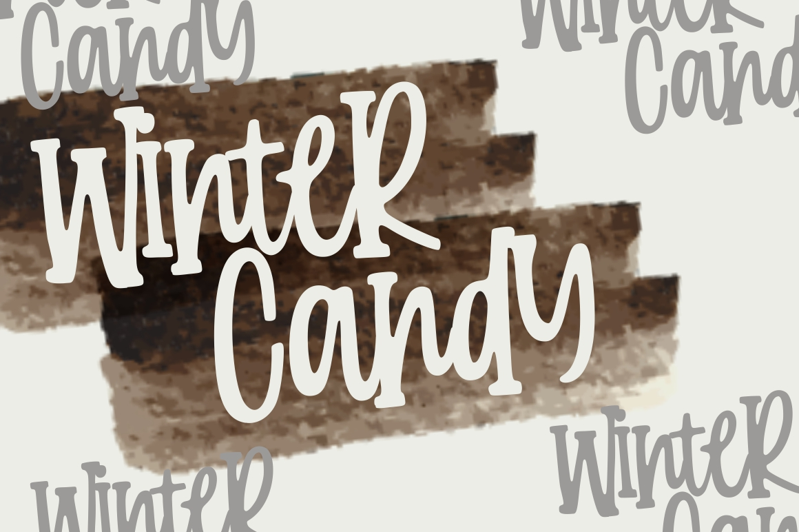 Candy Clause - Handdrawn Font example image 2