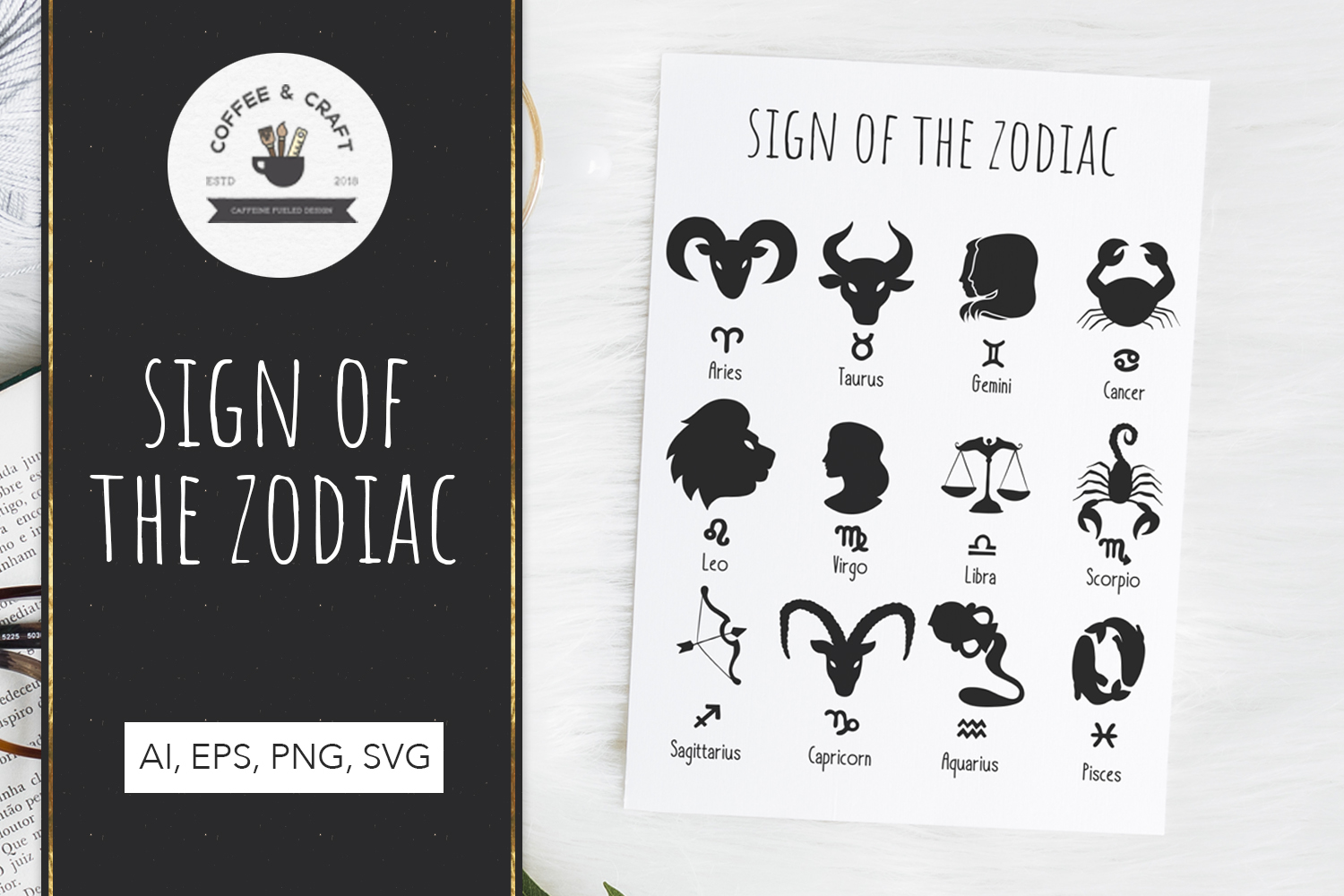 Signs of the zodiac example image 1