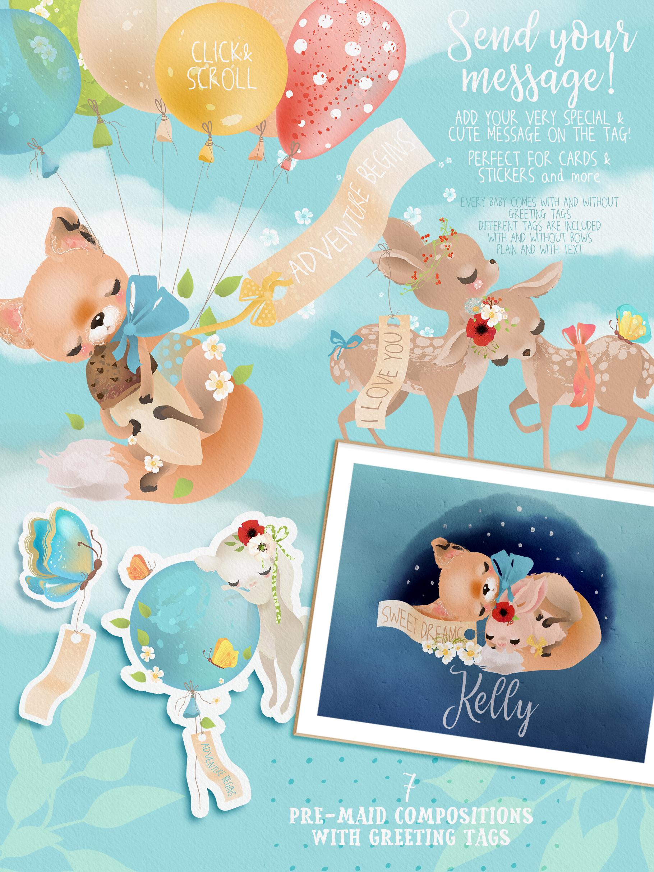 Woodland Babies example image 7