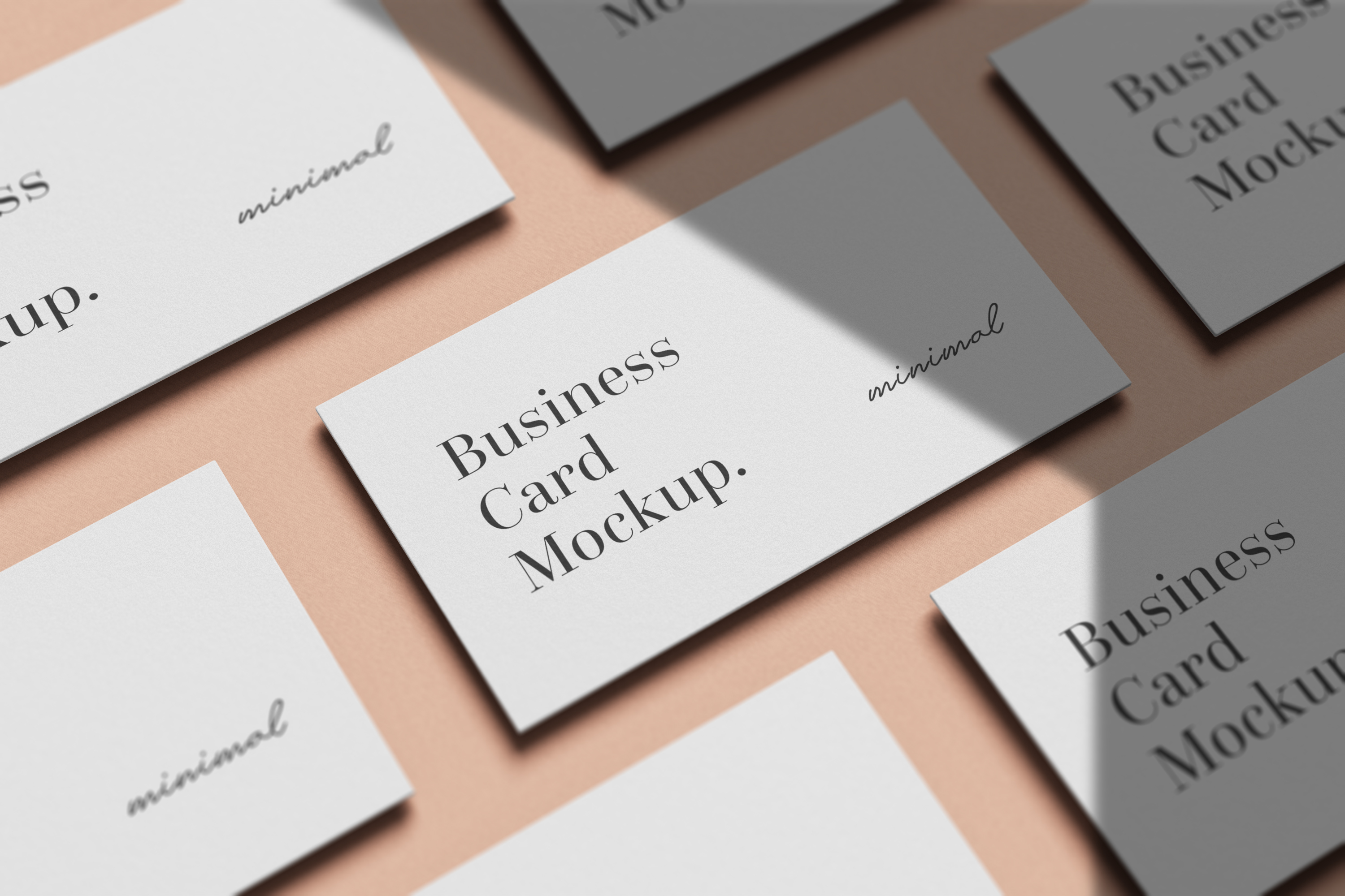 Modern Business Card Mockup example image 10